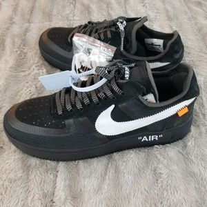 OFF White x Airforce 1 Black